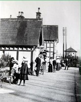The Edwardian Station at bell Busk