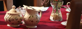 Tudor House Table Setting